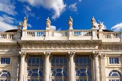 Palazzo Madama - Torino Italien Arkivbild