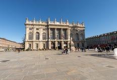 Palazzo Madama in Torino - Turin Italy Royalty Free Stock Photo