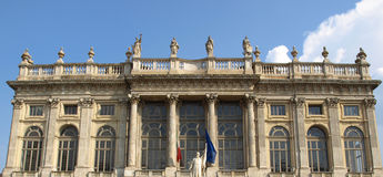 Palazzo Madama, Turin Royalty Free Stock Photo