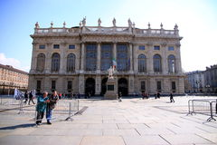 Palazzo Madama in Turin Stock Photo