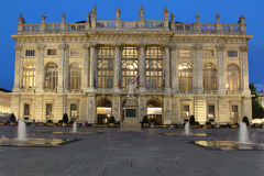 Palazzo Madama in Turin Royalty Free Stock Photo