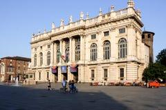 Palazzo Madama Turin Italia/Italy Stock Photography