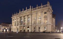 Palazzo Madama, Turin, Italien fotografering för bildbyråer