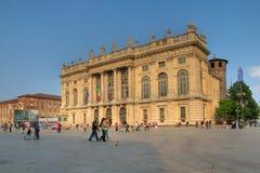 Palazzo Madama, Turin, Italy Stock Images