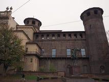 Palazzo Madama in Turin stock photography