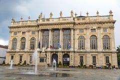 Palazzo Madama in Turin, Italy Royalty Free Stock Photography