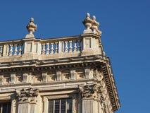 Palazzo Madama in Turin stock images