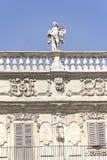 Palazzo Maffei royaltyfria bilder