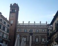 Palazzo Maffei Verona Italy Foto de Stock Royalty Free