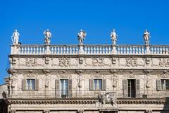 Palazzo Maffei - Verona Italy Royalty Free Stock Photos