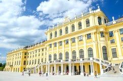 Palazzo magnifico di Schonbrunn Immagini Stock Libere da Diritti