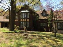 Palazzo magnifico nella contea di Anne Arundel in Maryland immagini stock
