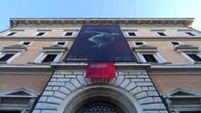 Palazzo Massimo, Roma, Itália Imagem de Stock