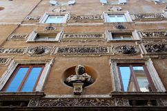 The Palazzo Mattei di Giove in Rome Royalty Free Stock Image