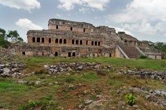 Palazzo Mayan in Sayil Immagini Stock