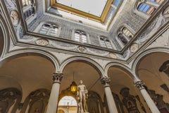 Palazzo Medici Riccardi в Флоренсе стоковые фотографии rf