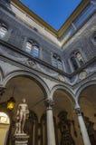 Palazzo Medici Riccardi in Florence royalty-vrije stock afbeelding