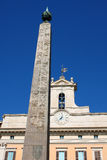 Palazzo Montecitorio дворец в Риме и месте Ita Стоковые Фото