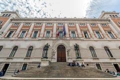 Palazzo Montecitorio, строить парламента italien Стоковые Фотографии RF