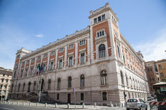 The Palazzo Montecitorio in Rome, Italy Royalty Free Stock Photography