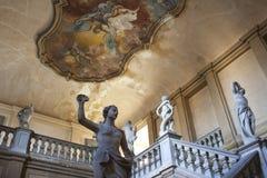 Palazzo Montevecchio i Fano - Italien Fotografering för Bildbyråer