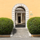 Palazzo Montorio on Janiculum Hill, residence of the Ambassadors of Spain. Rome, Royalty Free Stock Images