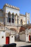 Palazzo Moresque Sticchi en Santa Cesarea Terme, Italia Imagenes de archivo