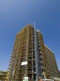 Palazzo multipiano in costruzione Fotografie Stock Libere da Diritti