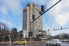 Palazzo multipiano del comune di Varna, Bulgaria Fotografia Stock Libera da Diritti