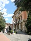 Palazzo Municipio Montecatini Terme, Italia Fotos de archivo libres de regalías