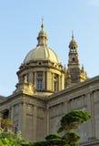 Palazzo nazionale Barcellona Immagine Stock