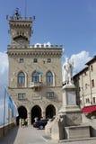 Palazzo nazionale del San Marino (Palazzo Pubblico) fotografia stock