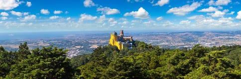 Palazzo nazionale di Pena in Sintra immagini stock libere da diritti