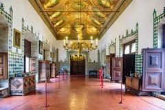 Palazzo nazionale di Sintra fotografie stock libere da diritti