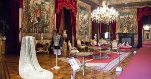 Palazzo nazionale Lisbona di Ajuda Immagine Stock