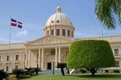 Palazzo nazionale - Santo Domingo Immagini Stock Libere da Diritti