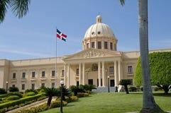 Palazzo nazionale - Santo Domingo Fotografia Stock Libera da Diritti