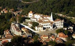 Palazzo nazionale in Sintra Portogallo Fotografia Stock