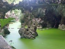 Palazzo nel palazzo degli alberi di verde di sintra Immagine Stock