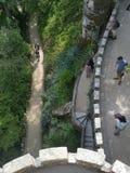 Palazzo nel palazzo degli alberi di verde di sintra Fotografie Stock Libere da Diritti