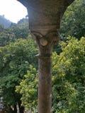 Palazzo nel palazzo degli alberi di verde di sintra Fotografia Stock Libera da Diritti