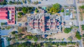 palazzo nel wat Phai Rong Wua Fotografia Stock Libera da Diritti