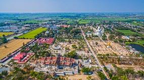 palazzo nel wat Phai Rong Wua Immagine Stock