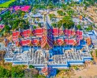 palazzo nel wat Phai Rong Wua Immagine Stock Libera da Diritti