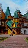 Palazzo nella residenza di Kolomenskoye degli zar. Fotografia Stock