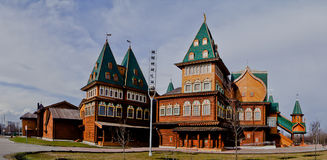Palazzo nella residenza di Kolomenskoye degli zar. Fotografie Stock Libere da Diritti