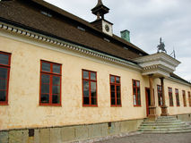 Palazzo nella sosta di Skansen Fotografie Stock