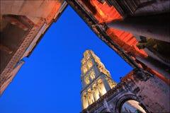 Palazzo nella spaccatura, Croatia del Diocletian immagine stock libera da diritti