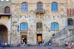 Palazzo Nuovo del Podesta 1 - San Gimignano Royalty Free Stock Images