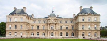 Palazzo Palais du Lussemburgo del Lussemburgo nei giardini del Lussemburgo a Parigi Fotografia Stock Libera da Diritti